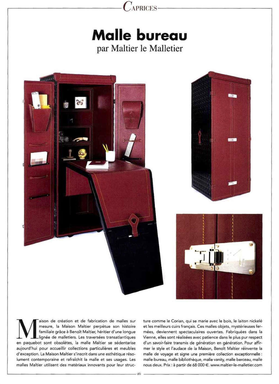 presse maltier le malletier. Black Bedroom Furniture Sets. Home Design Ideas