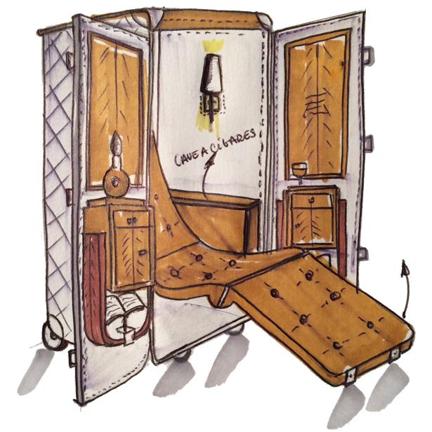 sur mesure maltier le malletier. Black Bedroom Furniture Sets. Home Design Ideas