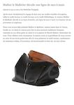 Maltier le Malletier dévoile une ligne de sacs à main - Abc-luxe 150