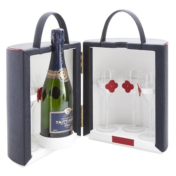 coffret champagne maltier le malletier. Black Bedroom Furniture Sets. Home Design Ideas